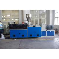 Wholesale High Output PVC Pipe Extrusion Machine , Pvc Pipe Production Line Double Screw 80kg / H from china suppliers