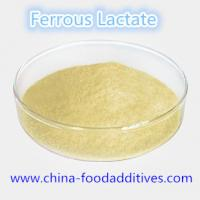 Wholesale Food Additives Ferrous Lactate food grade CAS:5905-52-2 from china suppliers