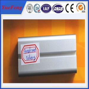 Wholesale anodized extruded aluminium profile manufacturer,veranda anodized aluminium fence from china suppliers
