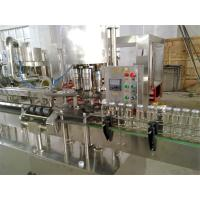 Buy cheap 18 Heads Automatic Juice Glass Bottle Filling Machine Customized For Small Factory from Wholesalers