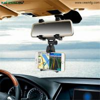 Wholesale Universal Car Mount Car Holder Universal Rearview Mirror Holder Cell Phone GPS holder Stand Cradle Auto Truck Mirror from china suppliers