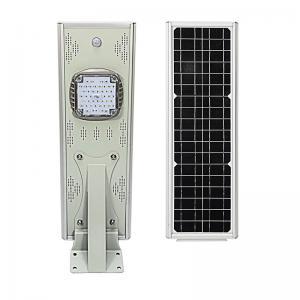 Buy cheap Outdoor 20W Solar Lamp Aluminum LED Housing PIR Sensor Light Control from wholesalers