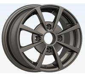 High Performance Black 12 Inch Alloy Chrome Wheels, Car Wheel Rim