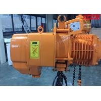 Buy cheap Fast speed Heavy Duty Electric Chain Hoist cap 10 ton SGW 3 phase 60hz from Wholesalers