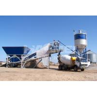 China Skip Type Low Cost Concrete Batching Plant Indonesia on sale