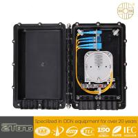Anti UV Outdoor Cable Enclosure Box , Heat Shrinkable Splice Closure For Fiber