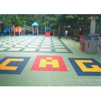 Kids Outdoor Playground Floor Kids Rubber Floor Mats