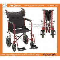 Buy cheap RE140 19″ inch Transport Chair with 12″ Rear Wheels, Wheelchair, Transport Chair from wholesalers