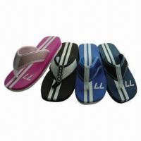 Wholesale Hot Selling Men's Beach Sandals with Fabric Upper, Comfortable from china suppliers