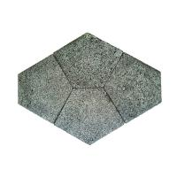 Buy cheap Grey Volcanic Lava Flagstone Natural Stone Patio Paver from wholesalers