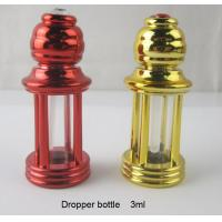 Buy cheap 3ml four-column plastic perfume bottle dropper essential oil glass bottle roll from wholesalers