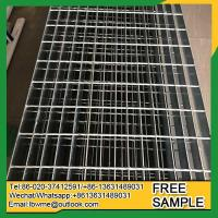 Wholesale Aspen galvanized steel grating industry grating road drainage heavy duty grate price from china suppliers