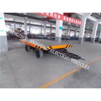 20 Tons Load Flatbed Multi Purpose Trailer With 21000m Wheel Base PT-20