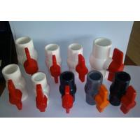 "UPVC ball valves and pipe fittings size  ½, ¾, 1 ¼, 1 ½, 2"", 2 ½, 3"", 4"""