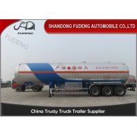 Wholesale 59.7 Cubic Meters 3 Axle Q345B 25T Lpg Gas Tanker Truck from china suppliers