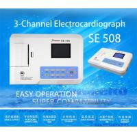 Buy cheap Large TFT Screen Ecg Portable Machine , SE508 3 Channel Digital Ecg Machine from wholesalers