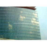China Curve / Flat Laminated Safety Glass Minimum Size 250 Mm-350 Mm Solid Structure on sale