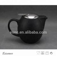 Buy cheap Ceramic teapot with stainless steel lid and strainer stoneware type from wholesalers