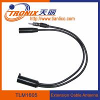 Buy cheap extension cable car antenna/ Nissan original female car antenna adaptor TLM1605 from wholesalers