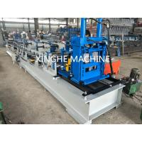 Wholesale Automatic Metal Channel Steel Beam C Z Purlin Roll Forming Machine Quick Interchangeable from china suppliers