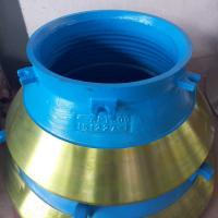 Buy cheap Metso Series cone crusher spare parts high manganese steel casting cone liner from wholesalers