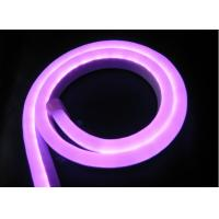 Wholesale Birhgt Purple Color Outdoor 240V Led Neon With 10 x 23mm Size from china suppliers