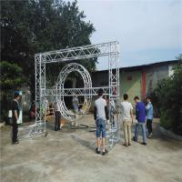 Safety Heavy Duty Aluminum Box Truss , Non Rust Global Square Truss Lighting