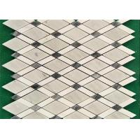 China Venice White Mosaic Kitchen Floor Tiles , Mosaic Style Floor Tiles 10 Mm Thick on sale