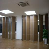 Wholesale Fabric Surface Mobile Door Sliding Folding Soundproofing Partition Walls For Banquet Hall from china suppliers