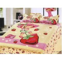 China Happy girl bed cover set on sale
