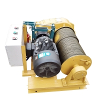 Wholesale 10 Ton 220v 13000lbs Wire Rope Electric Lifting Winch from china suppliers