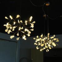 Wholesale Creative art beaded acrylic lighting chandelier modern european for household from china suppliers