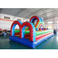 Buy cheap Outdoor Inflatable Sports Games, Inflatable Obstacle Course Games from wholesalers