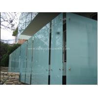 Buy cheap Shower Room Obscure Acid Etched Glass Patterns , Double Sided Auto Float Glass from Wholesalers