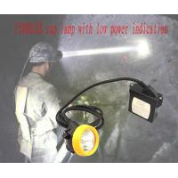 Wholesale KL5LM led mining safety helmet lamp 6.5Ah rechargeable battery low power indication from china suppliers