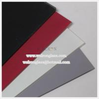 Wholesale colorful Silk screenprinting tempered glass for glass splashback from china suppliers