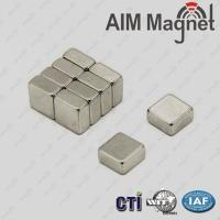 Wholesale safety magnet locking system rectangle shape neodymium magnets from china suppliers