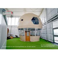 Wholesale Large Steel Frame Hot Balloon Geodesic Dome Tent Glamping Asheville from china suppliers