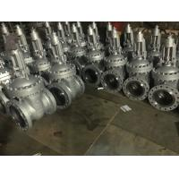 Gate valve with by-pass  gear operate CK3UMN  material trim F44 RF flange