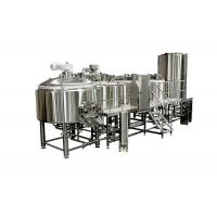 China 5000L Sanitary SS Large Brewing Equipment With Tri - Clamp Connection on sale
