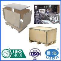 Wholesale Foldable plywood box Wooden Crates from china suppliers