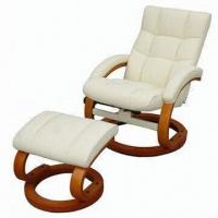 Wholesale Recliner with Ottoman Sofa, Made of PVC Material from china suppliers