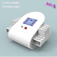 Wholesale Waist Fat Removal Lipo Laser Slimming Machine 650nm / 980nm With 336 Diodes from china suppliers