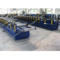 Wholesale Galvanized Steel Purlin Roll Forming Machine Size 9300 * 1400 * 1800mm from china suppliers
