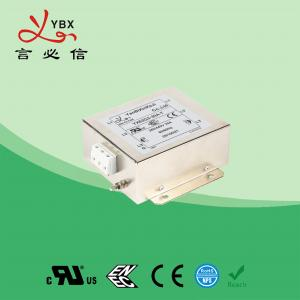 Wholesale Yanbixin 8 Amp Electric RFI Power Filter , RFI Power Line Filter For Locomotive from china suppliers