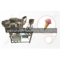 Wholesale automatic rolled sugar cone baking machine|sugar ice cream cone machine from china suppliers