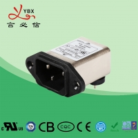 Wholesale Yanbixin 5A 60Hz EMI Inline EMI Filter For Small Medium Machines ODM Service from china suppliers