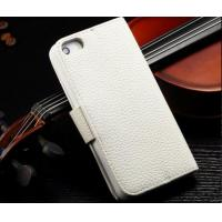 Wholesale Flip Cell Phone Wallet Cases With Card Holder, Lichee Pattern Leather Phone Case from china suppliers