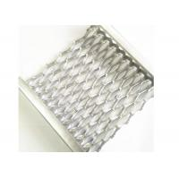 Buy cheap Aluminum Safety Grip Strut Grating Walkways , Crocodile Mouth Anti Slip Metal from wholesalers