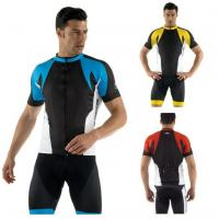 Wholesale Road Bike Team Cycling Jerseys Cycling Wear with Full Length Zipper  from china suppliers